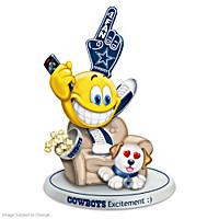 Cowboys Excitement Figurine