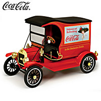 1:18-Scale COCA-COLA 1917 Ford Model T Diecast Car