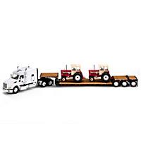 50th Anniversary International Harvester Diecast Tractor Set