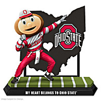 My Heart Belongs To Ohio State Figurine