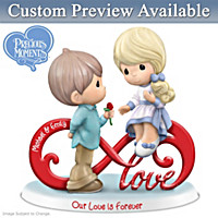 Precious Moments Our Love Is Forever Personalized Figurine