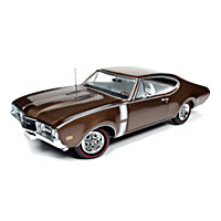 1:18-Scale 1968 Oldsmobile Cutlass 442 Diecast Car