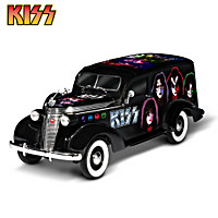 KISS Forever Studebaker Hearse Sculpture