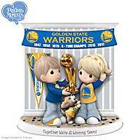 Together We\'re A Winning Team Golden State Warriors Figurine