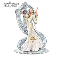 Thomas Kinkade With God All Things Are Possible Figurine