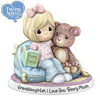 Granddaughter, I Love You Beary Much! Figurine
