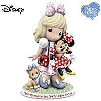 Disney My Granddaughter, You Are Cute Bow To Toe Figurine
