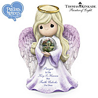 Prayer Is The Key To Heaven Faith Unlocks The Door Figurine