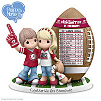 Together We Are Champions Alabama Crimson Tide Figurine