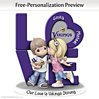 Our Love Is Vikings Strong Personalized Figurine