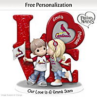 Our Love Is A Grand Slam Cardinals Personalized Figurine