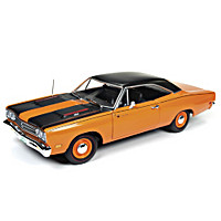 1:18-Scale 1969 Plymouth Road Runner Diecast Car