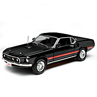 1:18-Scale 1969 Ford Mustang Mach 1 Diecast Car