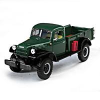 1:30-Scale 1949 Dodge Power Wagon Express Diecast Truck