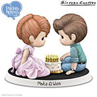 Precious Moments Make A Wish Figurine