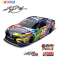 Kyle Busch No. 18 M&M\'s Caramel 2018 Diecast Car