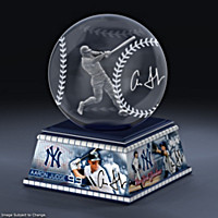Aaron Judge Laser-Etched Glass Sculpture