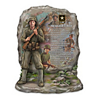U.S. Army The Soldier\'s Creed Sculpture