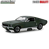 1:18-Scale Unrestored 1968 Ford Mustang GT Diecast Car