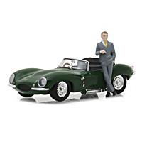 Steve McQueen 1956 Jaguar XKSS Diecast Car