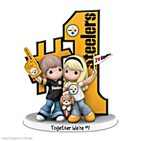Together We\'re #1 Pittsburgh Steelers Figurine