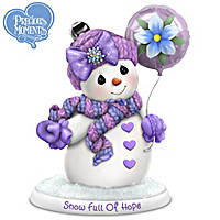 Precious Moments Snow Full Of Hope Figurine