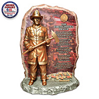 The Firefighter\'s Prayer Sculpture