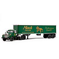 1:64-Scale Vintage Mack B-61 Day-Cab Diecast Truck