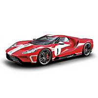 1:18-Scale 2018 Ford GT #1 Heritage Edition Sculpture