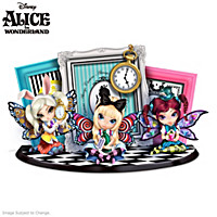 Disney Fun With Alice In Wonderland Figurine Set