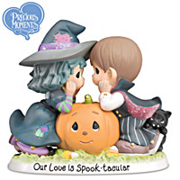 Precious Moments Our Love Is Spook-tacular Figurine