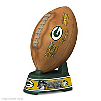 Green Bay Packers 100th Anniversary Football Sculpture