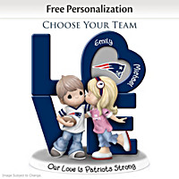 Precious Moments Personalized NFL Figurine