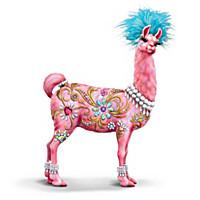 Lovable Llama Figurine