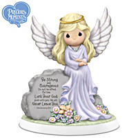 Precious Moments Angel Of Courage Figurine