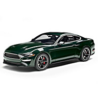1:18-Scale 2019 Ford Mustang Bullitt Sculpture