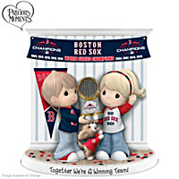 Together We\'re A Winning Team Boston Red Sox Figurine