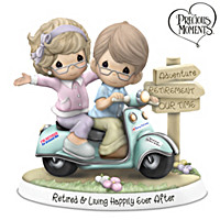 Precious Moments Retired & Living Happily Ever After Figurine
