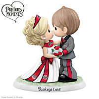 Precious Moments Buckeyes Love Forever Figurine