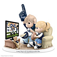 Every Day Is A Touchdown With You Rams Figurine
