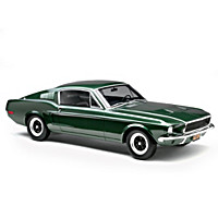 1:12-Scale 1968 Ford Mustang GT - Bullitt Sculpture