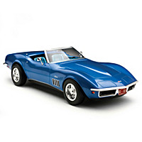 1:18-Scale 1969 Corvette Convertible Diecast Car
