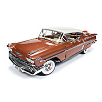 1:18-Scale 1958 Chevy Bel Air Impala Diecast Car