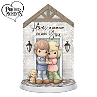 Precious Moments Home Is Wherever I\'m With You Figurine