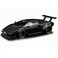 1:18-Scale Khyzyl Saleem Huratch Lamborghini Sculpture