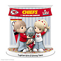 Together We\'re A Winning Team Kansas City Chiefs Figurine