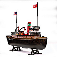 Texaco Latin American Tugboat Diecast Bank