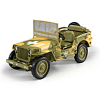 1:18-Scale 1941 Willys Diecast Medic Jeep