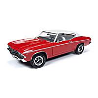 1:18-Scale 1969 Chevrolet Chevelle COPO Hardtop Diecast Car