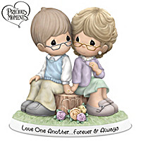 Precious Moments Love One Another Forever & Always Figurine